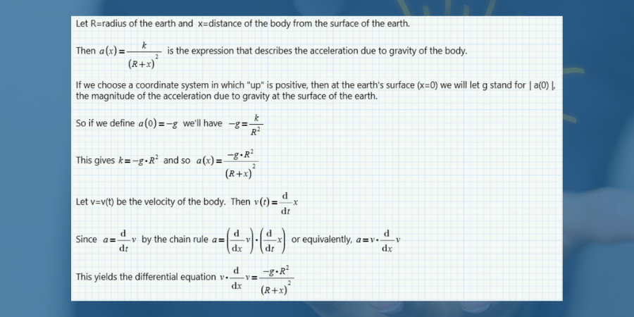 Physics collection worksheet