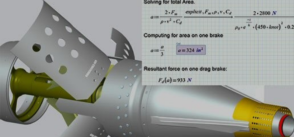 PTC Mathcad used to drive design dimensions in Creo
